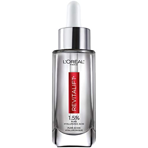 Hyaluronic Acid Serum for Skin, L'Oreal Paris Skincare Revitalift Derm Intensives 1.5% Pure...