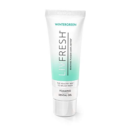 LIVFRESH Dental Gel by Livionex - Clinically Proven to Remove Plaque 250% Better (Foaming +...
