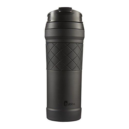 Bubba HERO Elite Vacuum-Insulated Stainless Steel Travel Mug with TasteGuard, 16 oz, Black
