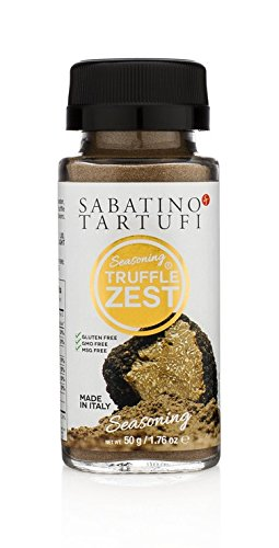 Sabatino Tartufi Truffle Zest Seasoning, The Original All Purpose Gourmet Truffle Powder, Plant...