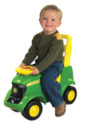 TOMY John Deere Sit 'N Scoot Activity Tractor Multi, 22. x 11. x 2. Inches