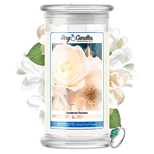 Ring Candles   Rings Valued at $15 - $7,500   21oz Jar Soy Candle   Hand Poured Made in The USA  ...