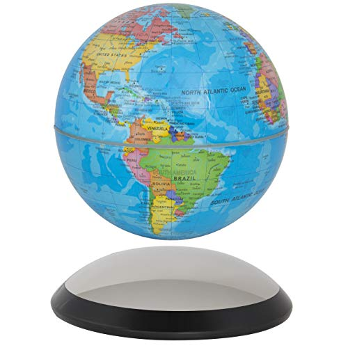 6' Magnetic Rotating Globe Anti-Gravity Floating Levitating Earth (Glossy Finish)