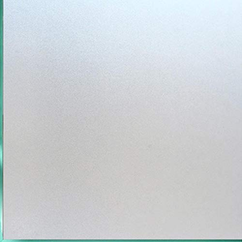 Coavas Window Films Privacy Non Adhesive Frosted Home Office Films Window Stickers Self Static Cling...