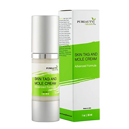 Skin Tag Mole And Wart Cream Infused with Essential Oils, Moisturizer with Advanced Natural Formula...