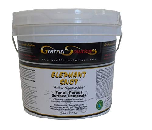 Graffiti Remover Elephant Snot (1 Gallon) Sold by The Manufacturer