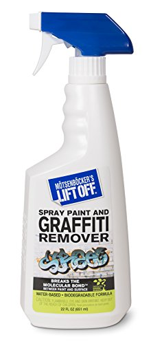 Motsenbocker's Lift Off 41101 22OZ Spray Paint and Graffiti Remover, 22-Ounce, Clear