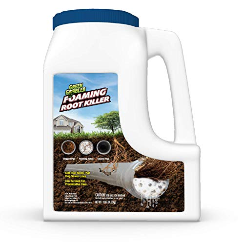 FOAMING Root Killer | Kills Tree Roots in Pipes & Sewer Lines | Contains No Copper Sulfate … (10...