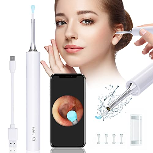 Ear Cleaner, Earwax Remover Tool with 1080P FHD Wireless WiFi Ear Camera and 6 LED Lights, Ear...