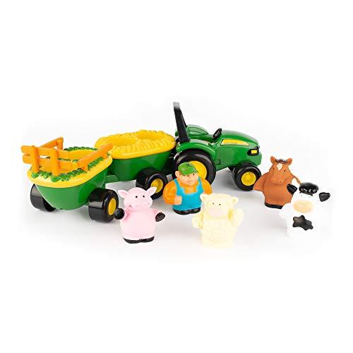 TOMY John Deere Animal Sounds Hayride Preschool Toy, miscellaneous