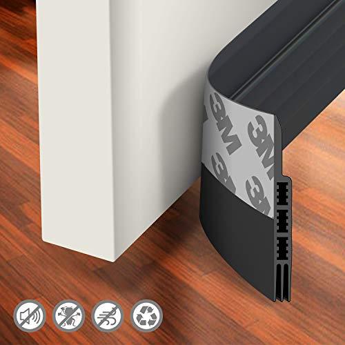 Holikme Door Draft Stopper Under Door Draft Blocker Insulator Door Sweep Weather Stripping Noise...