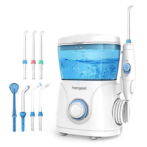 Homgeek Upgrade Water Flosser,Oral Irrigator,Dental Water Flosser,Anti Leakage Water Flosser for...