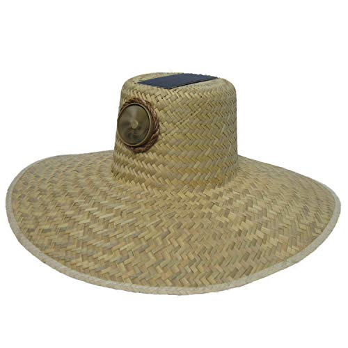 Kool Breeze Solar Cooling Hat - Gardener (Plain)