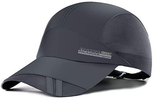 Summer Baseball Cap Quick Dry Mesh Back Cooling Sun Hats Flexfit Sports Caps for Golf Cycling...