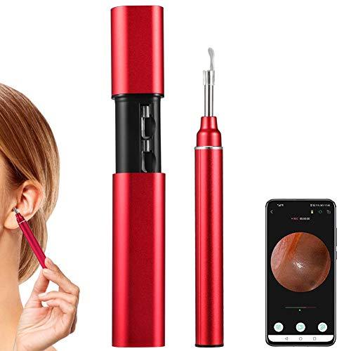 CrazyFire Wireless Otoscope, Newest 3.9mm Ear Endoscope Wax Removal Tool, HD WiFi Otoscope with 6...