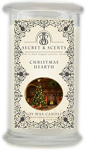Elegant Jewelry in Soy Candle - Secret and Scents Highly Scented Soy Candles - Pick Your Scent and...