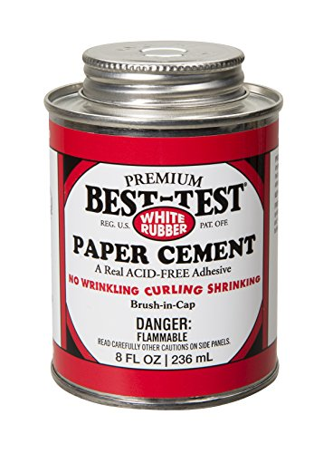 Best-Test Premium Paper Cement 8OZ Can (139)