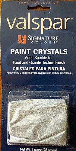 Valspar signature colors 123ABC Silver 1 Oz. Interior Paint Crystals