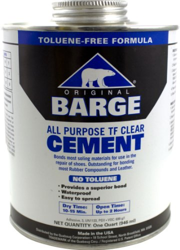 Barge Toluene Free All-Purpose Cement Cement, 32 oz (1)