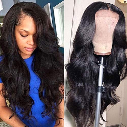 Wingirl Lace Front Human Hair Wigs for Women Pre Plucked Hairline 150% Denisty Brazilian Body Wave...
