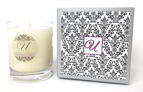 Unrivaled Candles Lavender Fields (8 oz) Candle with Ring Inside (Surprise Beauty Gifts for Women...