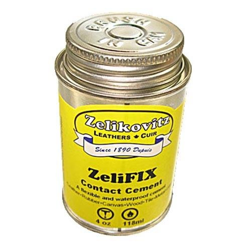ZeliFIX Leathercraft Contact Cement - 4 Ounce