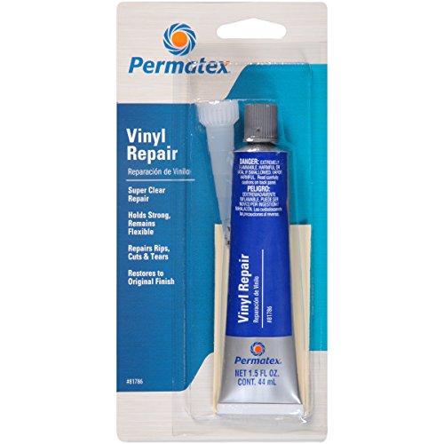 Permatex 81786 Super Clear Vinyl Sealant Repair Kit, Single Unit