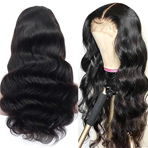 Full Lace Wigs Human Hair 18inch Body Wave Human Hair Wigs with Pre Plucked Hairline Human Hair Lace...
