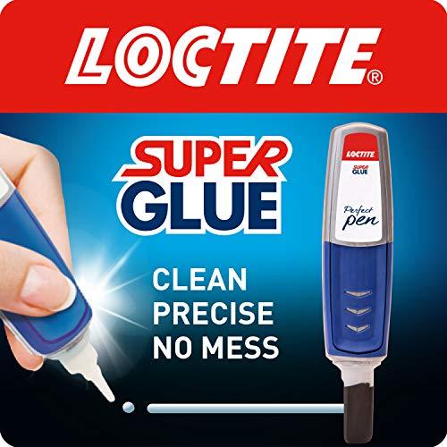 Loctite Super Glue Perfect Pen, Glue Pen for Precise Application, Superglue Gel Dries Clear for...