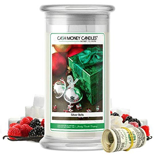 Cash Money Candles   $2-$2500 Inside   Guaranteed Rare $2 Bill   Large Long-Lasting 21oz Jar All...