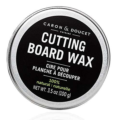 Caron & Doucet - Cutting Board & Butcher Block Wood Conditioning & Finishing Wax | 100% Plant-Based...