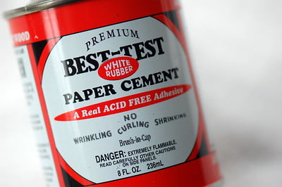 test rubber cement